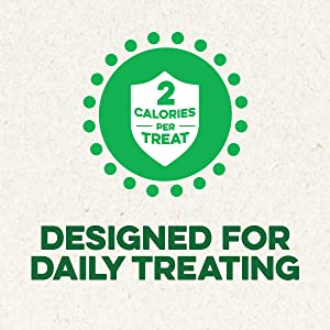 Designed for Daily Treating, 2 Calories Per Treat, Feline Greenies Cat Treats, Treats for Cats