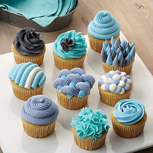 buttercream cupcakes, cupcake decorating,