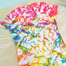 tie dye, tumble dye, sei, easy shirt, diy shirt, fabric dye, fashion dye