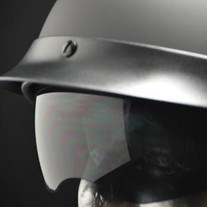Half Helmet Drop Down Sunshield