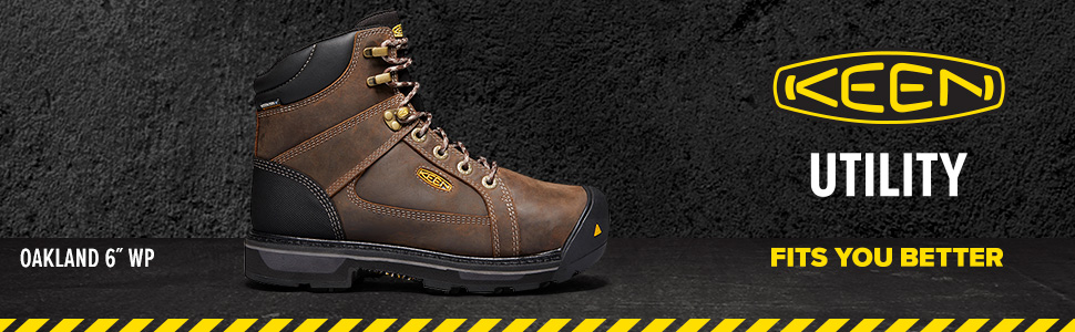 KEEN work boot, steel toe industrial boot, work boot, leather work boot