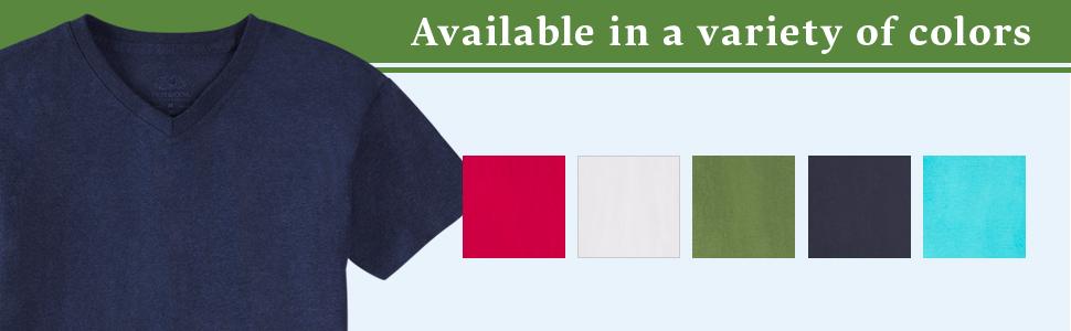 boys shirt, vneck tshirt, boys vneck tshirts, fruit of the loom