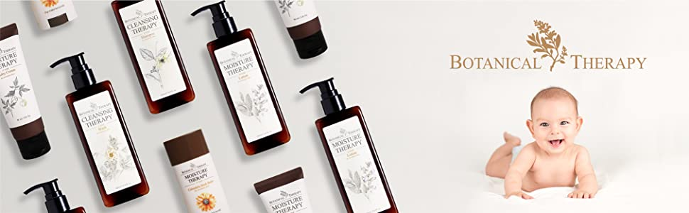 Botanical therapy baby shampoo, shampoo, baby shampoo, newborn shampoo, skin care, baby skincare