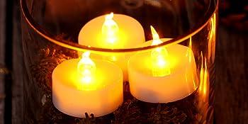 agptek tea lights tealights candles led candles