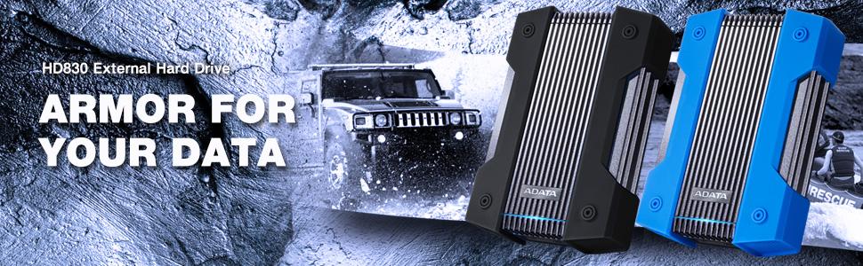 HD830 External Hard Drive