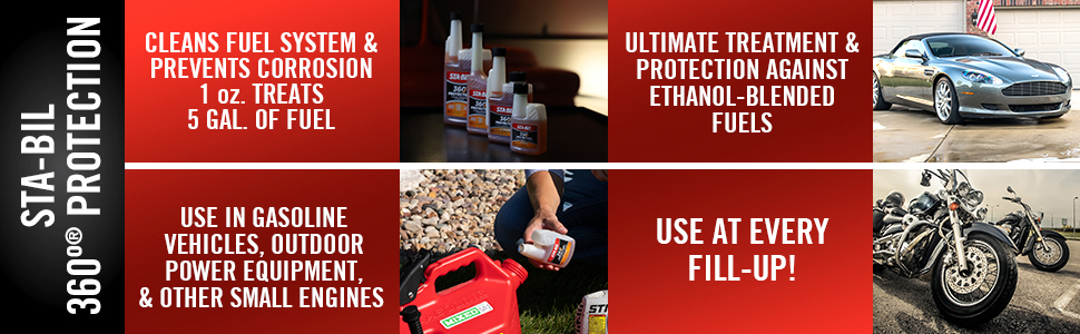 360 protection sta bil fuel additive ethanol treatment fuel stabilizer enzyme additive startron