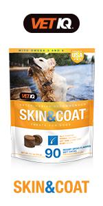 VetIQ Skin & Coat Chews for Dogs
