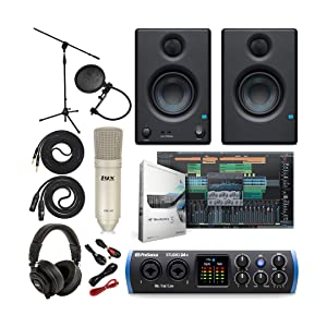 Everything you Need to Record and Produce Studio 24c Ultimate Bundle