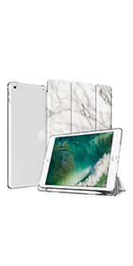 iPad 9.7 case with pencil holder