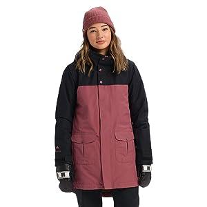 snow jacket ski jacket winter coat buttons waterproof warm insulated goretex