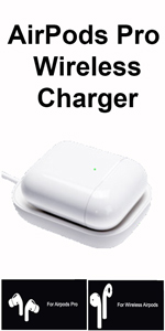 AirPods Pro White Wireless Charger Docking Station