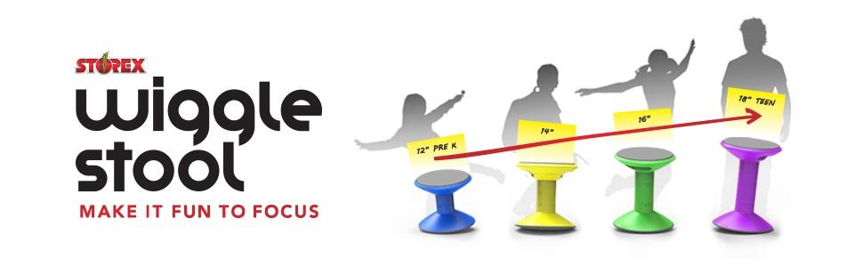 storex wiggle stool