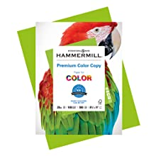 Hammermill Premium Color Copy Paper, a bright white paper for printing color-intensive, documents.
