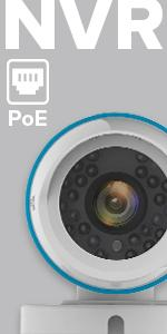 ip surveillance system, ip security camera, power over ethernet, PoE surveillance kit, poe wired kit