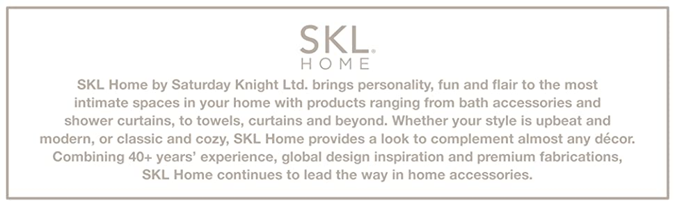 skl home, saturday knight ltd, bath accessories, home decor, bath decor, shower curtain, towel, home