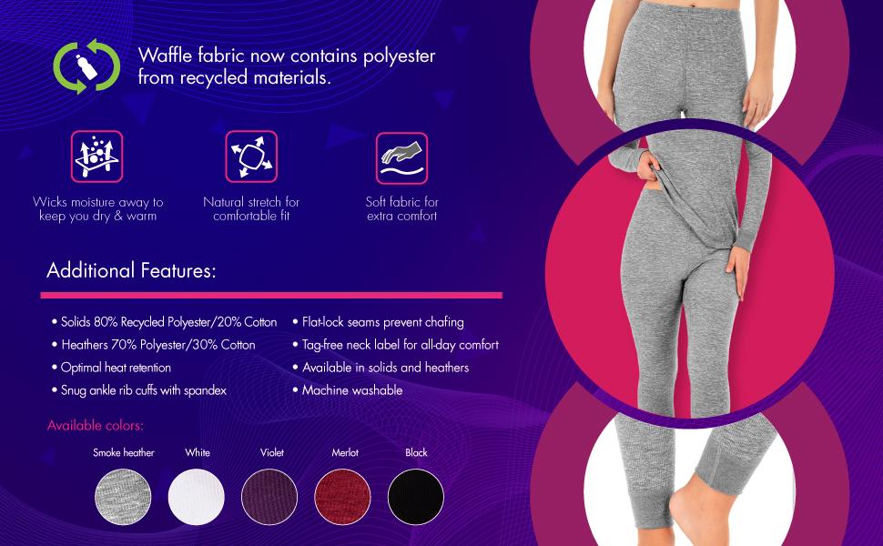 FOL, FOL Ladies, Women's Thermals, Women's Thermals underwear