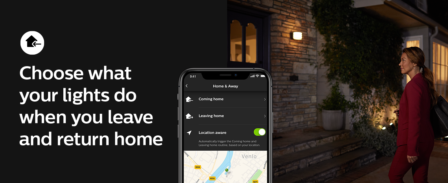 Philips;Hue;smart lighting;LED;indoors;outdoors;app controlled;smart home;Hue Hub; Philips Home