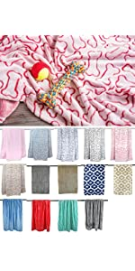 Lightweight and easy to care for; this blanket can be stored in your car for on the go trips for you
