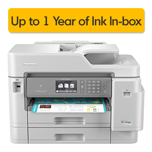 Get Up to 1-Year of  Ink In-box