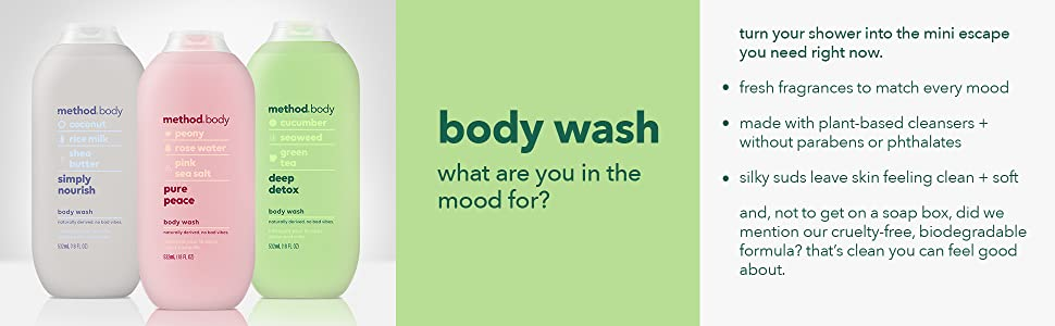 body wash, body soap