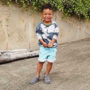 Lightweight boys water-sandal