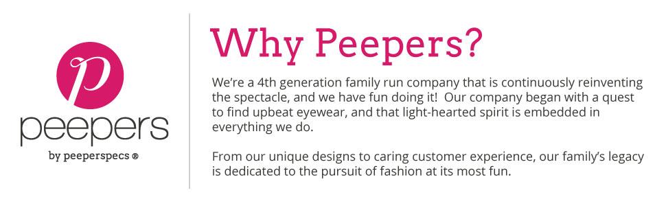 peepers, quality, eyewear