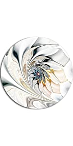 flower decorative with living birds abstract silver modern sun fish kitchen letter sea 3d life set