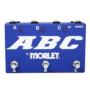 Morley ABC Switcher Selector Combiner Guitar Pedal