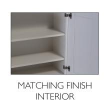 matching finish interior