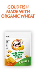 Pepperidge Farm Goldfish Organic Wheat Cheddar