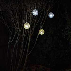 christmas, pulsing, outdoor, globes, decoration, ornament, wireless