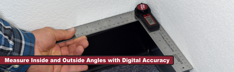 Digital Angle Gauge Level Box Angle Finder for Table Saw Blade Woodworking C...