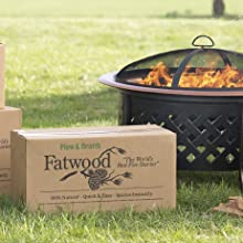 fatwood, fire starter, fire pit, outdoor fireplace