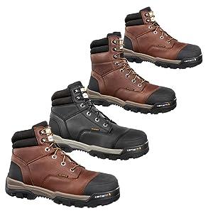 worl books for all men jobs construction soft steel toe composite black