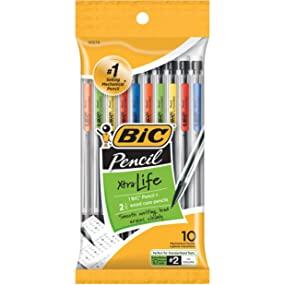 bic xtra life mechanical pencils