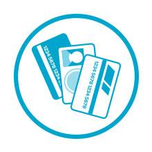 Wallet slot securely holds cash or cards