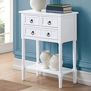 hutch decorative lathe turned legs traditional modern living family room white