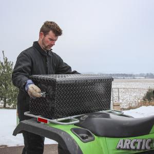 UWS ATV Cargo Box Storage Carrying Handles