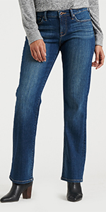 Mid Rise Easy Rider Bootcut