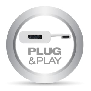 adapter is true Plug & Play device, with no need for driver or software installations of any kind