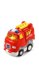 VTech Go! Go! Smart Wheels Press and Race Fire Truck
