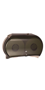 "Tork 56TR Twin Jumbo Bath Tissue Roll Dispenser, 9"""