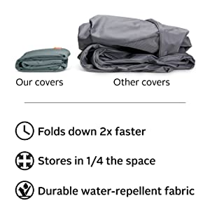 Storigami BBQ Grill Cover