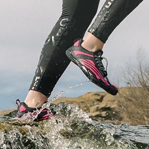 watershoe, water shoe, aquasock