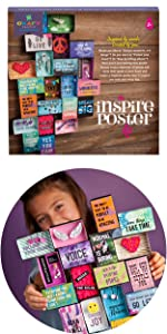quotes poster self esteem craft gift for girls craft for kids empowerment craft creativity gift