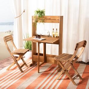 outdoor dining bar set