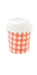 Restaurantware's 4-oz coffee cups have reinforced seams to prevent unsightly messes.