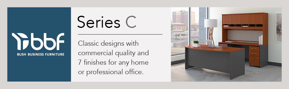 bbf,bush business furniture,series c,auburn maple,maple,contemporary,bush,bush industries