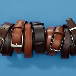 variety of belt types