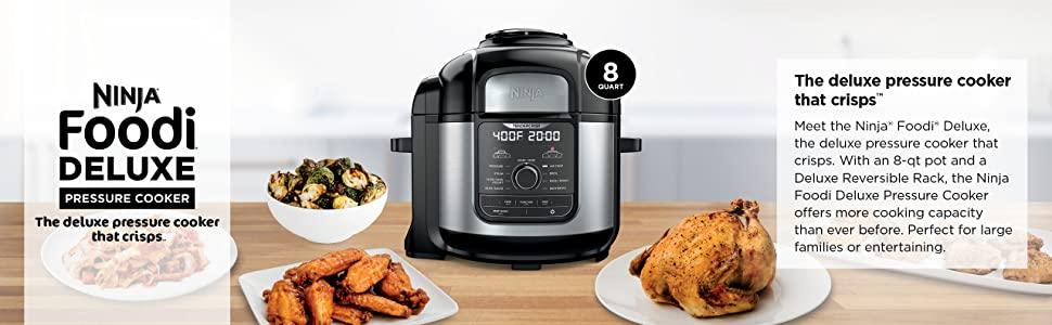 FD401, Ninja, Foodi, Multi-cooker, top banner
